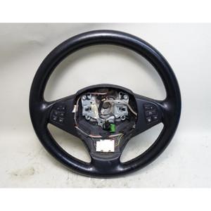2007-2010 BMW E83 X3 SAV Late Model Leather Steering Wheel w Heat OEM - 33662