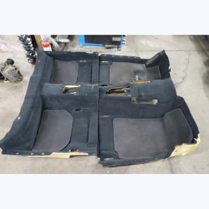 1997-2001 BMW E38 740i Short Wheel Base Interior Floor Covering Carpet Set OEM - 33699