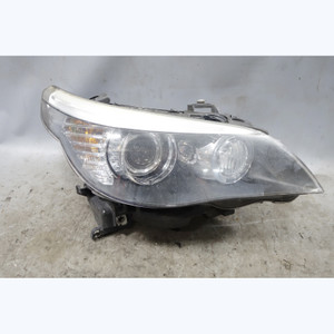 2008-2010 BMW E60 5-Series Late Model Right Headlight Lamp Xenon Adaptive OEM - 33715