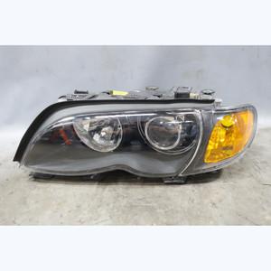 Damaged 2002-2005 BMW E46 3-Series 4door Left Factory Xenon Headlight AL OEM - 33751