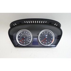BMW E60 M5 E63 M6 Instrument Gauge Cluster Panel MPH Speedo Tach 103K 2006-2010 - 33821