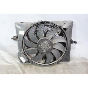 Damaged 2006-2010 BMW E60 M5 E63 M6 Factory Electric Engine Cooling Fan w Shroud - 33825