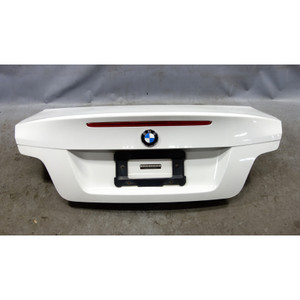 2009-2013 BMW E82 1-Series 135i 128i Coupe Rear Trunk Lid Boot Deck Lid White - 33862