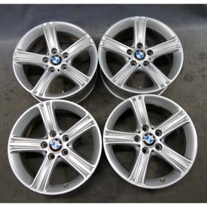 "2013-2017 BMW F30 3-Series F32 Factory Style 393 17"" Wheel Set of 4 USED OEM - 33973"