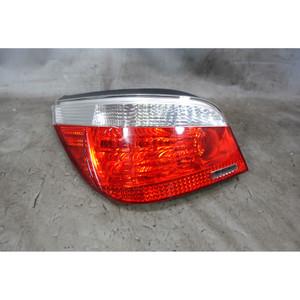 BMW E60 5-Series Sedan Early Left Rear Tail Light White 2004-2007 USED OEM - 34023