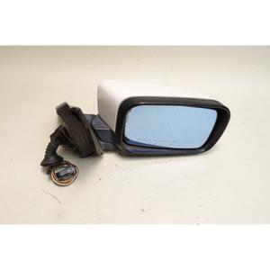 1998-2003 BMW E39 5-Series Right Outside Side Mirror Alpine White Memory OEM - 34035