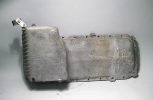 1989-1990 BMW E34 525i Sedan M20 6-Cyl Engine Oil Pan Aluminum Factory USED OEM - 1197