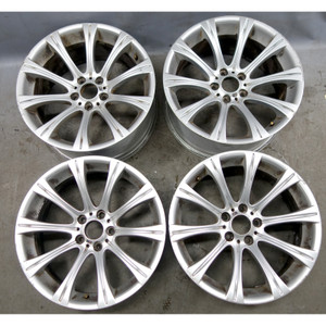 """2006-2010 BMW E60 M5 Staggered Factory 19"""" M Radial Spoke Alloy Wheel Set of 4 - 34296"""