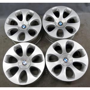 "2004-2007 BMW E63 E64 6-Series Staggered 19"" Ellipsoid Style 121 Wheel Set OEM - 34298"