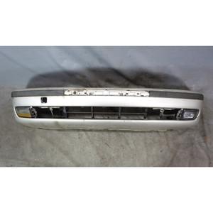 1997-2000 BMW E39 5-Series Factory Front Bumper Cover Trim Titanium Silver OEM - 34234