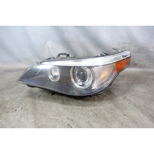 2005-2007 BMW E60 5-Series Left Xenon Adaptive Headlight Lamp Drivers White OEM - 34043