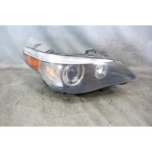 2005-2007 BMW E60 5-Series Right Xenon Adaptive Headlight Lamp Drivers White OEM - 34044