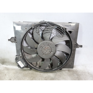 Damaged 2006-2010 BMW E60 M5 E63 M6 Factory Electric Engine Cooling Fan w Shroud - 34050