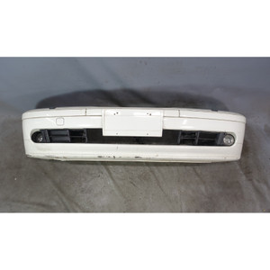1997-2003 BMW E39 5-Series Factory Front Bumper Cover Tirm Alpine White OEM - 34051