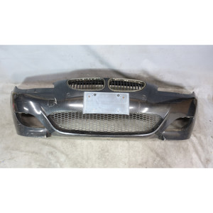 2006-2007 BMW E60 M5 Early Front Bumper Cover Trim PDC Black Sapphire OEM - 34066