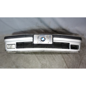 BMW E36 3-Series Factory Front Bumper Cover Trim Panel Titanium Silver 1992-1999 - 34082