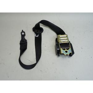 1985-1991 BMW E30 3-Series Left Front Driver's Seat Belt Black OEM - 34155