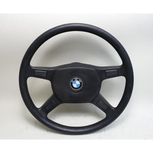 BMW E30 3-Series Standard Vinyl Steering Wheel 4-Spoke 1984-1993 OE - 34157