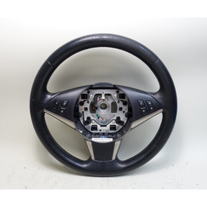 2006-2010 BMW E60 5-Series E63 Factory Sports Leather Steering Wheel OEM - 34182
