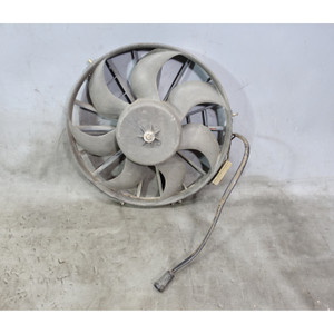 1984-1991 BMW E30 3-Series E28 Factory Auxiliary AC Condensor Electric Fan OEM - 34189