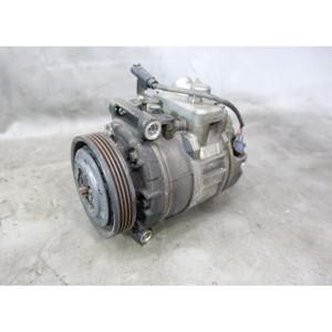 Damaged 2004-2007 BMW E60 E63 N62 V8 Air Conditioning AC Compressor Pump OEM - 34195