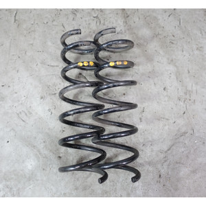 BMW E63 645Ci 650i V8 Factory Rear Axle Coil Spring Pair Left Right 2004-2010 OE - 34206