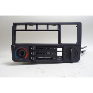 BMW E30 Climate Control Radio Surround Trim Face Panel 1984-1991 OEM - 34284