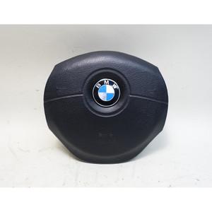 Damaged BMW E39 5-Series E38 M-Tech Steering Wheel Airbag Module OEM - 34333