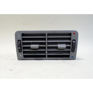 1995-2001 BMW E38 7-Series Rear Center Fresh Air Vent Grey OEM - 34342