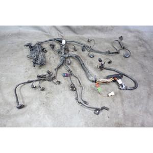 Damaged 2014-2015 BMW F30 F31 328d N47 4cyl Diesel Engine Wiring Harness OEM - 34399