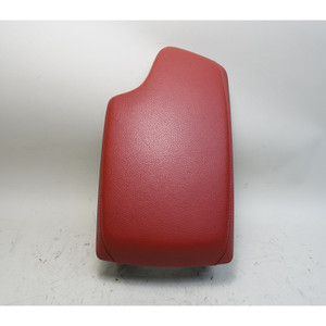 2012-2017 BMW F30 3-Series 4-Series Front Center Armrest Coral Red Leather OEM - 34439