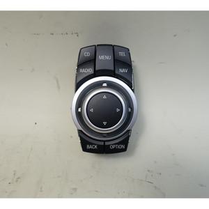 2009-2010 BMW 3-Series 5-Series X5 CIC Infotainment Computer Controller Knob OEM - 34447