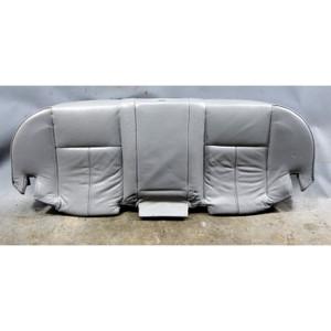 1996-2001 BMW E38 7-Series Factory Rear Seat Bottom Grey Montana Leather OEM - 34453