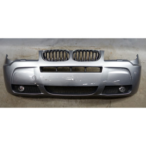 2004-2006 BMW E83 X3 3.0i M Factory Front Bumper Cover Trim Sliver Grey Mitallic - 34462