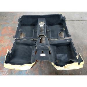 2004-2010 BMW E83 X3 SAV Interior Floor Covering Carpet Set Front Rear Black OEM - 34471