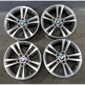 2012-2017 BMW F30 3-Series 18x8 Style 397 Double Spoke Alloy Wheels OEM - 34492