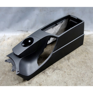 2004-2010 BMW X3 SAV Front High Center Armrest Console Lower Section Black OEM - 34510