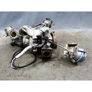 2009-2013 BMW E70 X5 3.5d Diesel M57 Big Low Pressure Turbocharger Assembly OEM - 34514