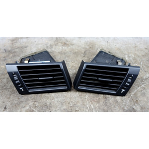 2005-2006 BMW X3 SAV Front Side Dash Fresh Air Grille Vent Left Right Black OEM - 34517