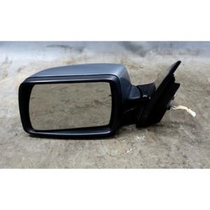 Damaged 2004-2006 BMW X3 SAV Left Outside Side Mirror Sliver Grey Gloss Black OE - 34518