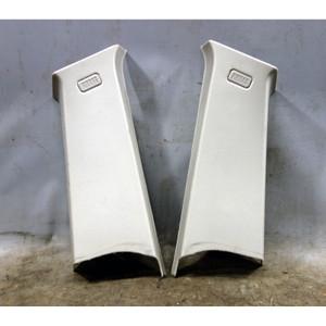 2005-2010 BMW E83 X3 SAV Rear Upper C- Pillar Column Cover Pair Grey OEM - 34527