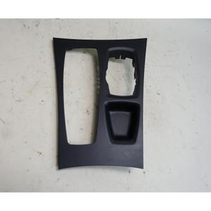 2010-2014 BMW E70 X5 E71 X6 Front Center Console Middle Trim Cover Black OEM - 34544