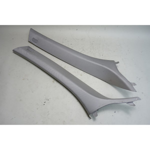 2005-2010 BMW E83 X3 SAV Front Interior Windshield A-Pillar Column Trim Grey OEM - 34545