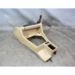 1989-1990 BMW E34 5-Series Front Center Console Storing Partion Natural Beige OE - 34556