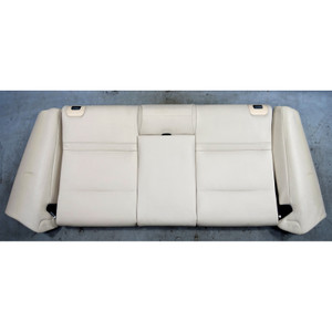 2010-2013 BMW E93 3-Series Convertible Rear Seat Backrest Bolster Oyster Leather - 34588