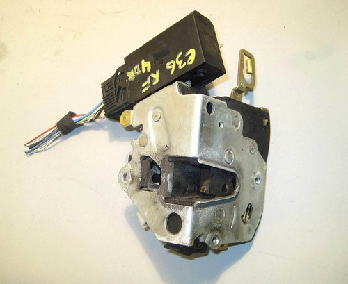 BMW E36 4dr Right Front Passenger Door Lock Latch w Actuator 1994-1998 OEM  USED