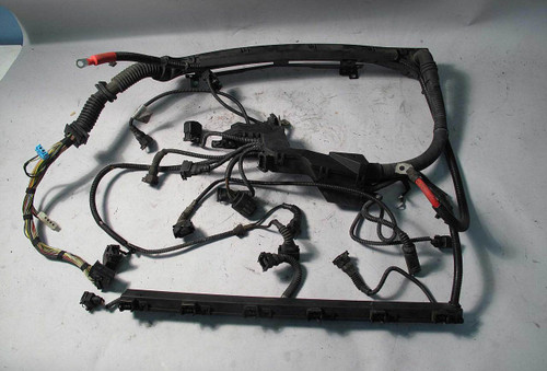 BMW Z3 2.3 2.8 Roadster Coupe M52TU Engine Wiring Harness 1999-2000  Bmw Wiring Harness on bmw harness to pioneer, bmw water pump, bmw oil filter, e30 temp sensor harness, chevy 6 5 glow plug harness, bmw k motorcycle wiring, cover for wire harness, bmw engine harness, ignition coil harness, bmw 328 front wiring, bmw heater core, bmw e46 stereo wiring diagram, bmw blower motor, bmw fuses, bmw 740 transmission harness, bmw 528i wire harness replacement, bmw radio, bmw wiring kit, bmw relays, ford 7 3 injector harness,