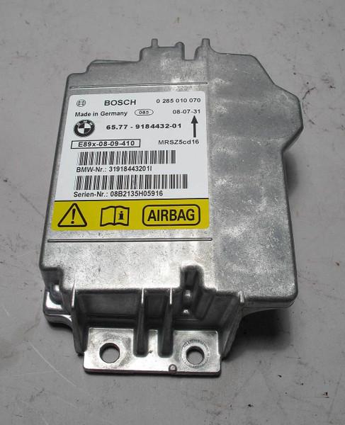 BMW 3-Series Mini Cooper Airbag Control Unit Module E90 E92 R50 R52 9184432  OEM
