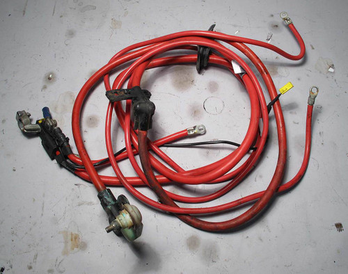 BMW E39 5-Series 540i V8 Battery Positive Power Cable Set 1998-2003 USED OEM