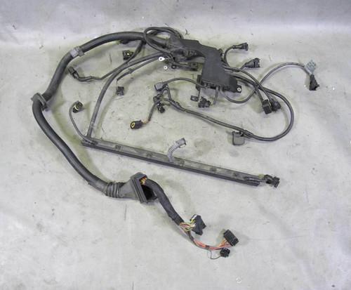 bmw e39 530i 525i 6-cyl m54 engine wiring harness w broken tab 2002-